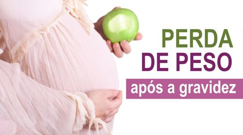 PERDA DE PESO APÓS A GRAVIDEZ