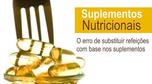 SUPLEMENTOS NUTRICIONAIS