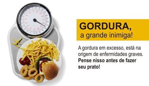 GORDURA – A GRANDE INIMIGA