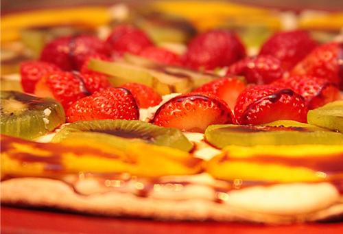 PIZZA DOCE – MARAVILHA DE FRUTAS