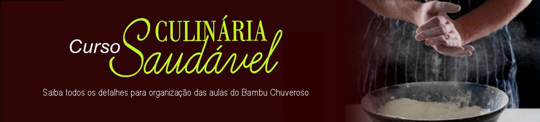 CURSO DE CULINÁRIA SAUDÁVEL