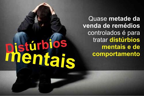 Quase Metade Da Venda De Remédios Controlados é Para Tratar Distúrbios Mentais E De Comportamento